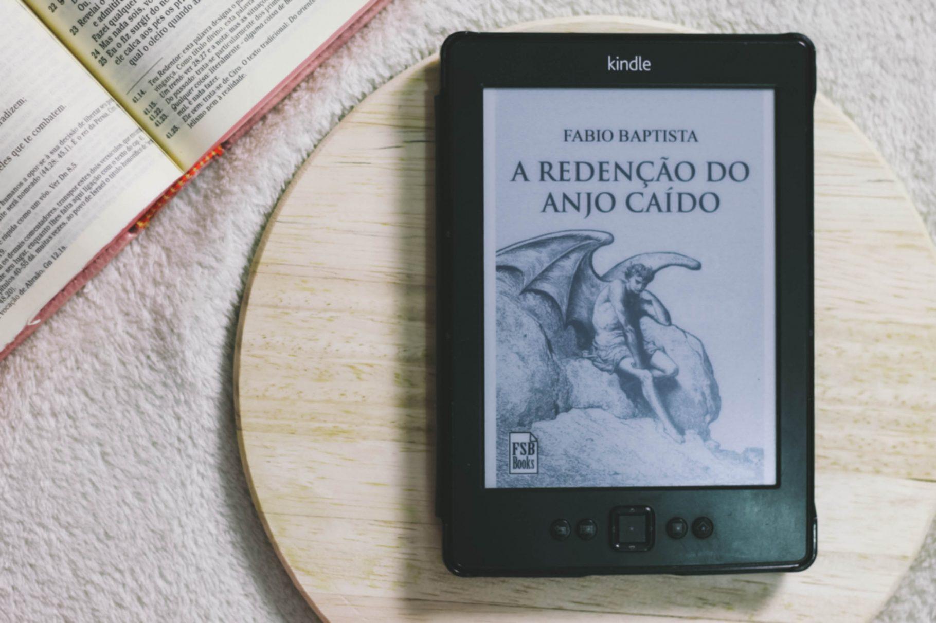 """Anjos, demônios e humanos em """"Redenção do Anjo Caído"""" de Fábio Baptista"""