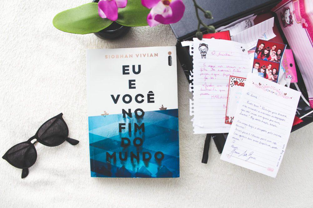 """""""Eu e Você no Fim do Mundo"""" de Siobhan Vivian é um livro sobre deixar as coisas irem"""