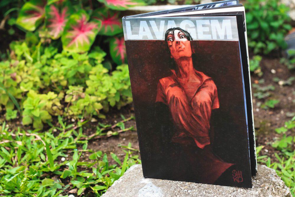 """O excepcional trabalho de Shiko na Graphic Novel """"Lavagem"""""""