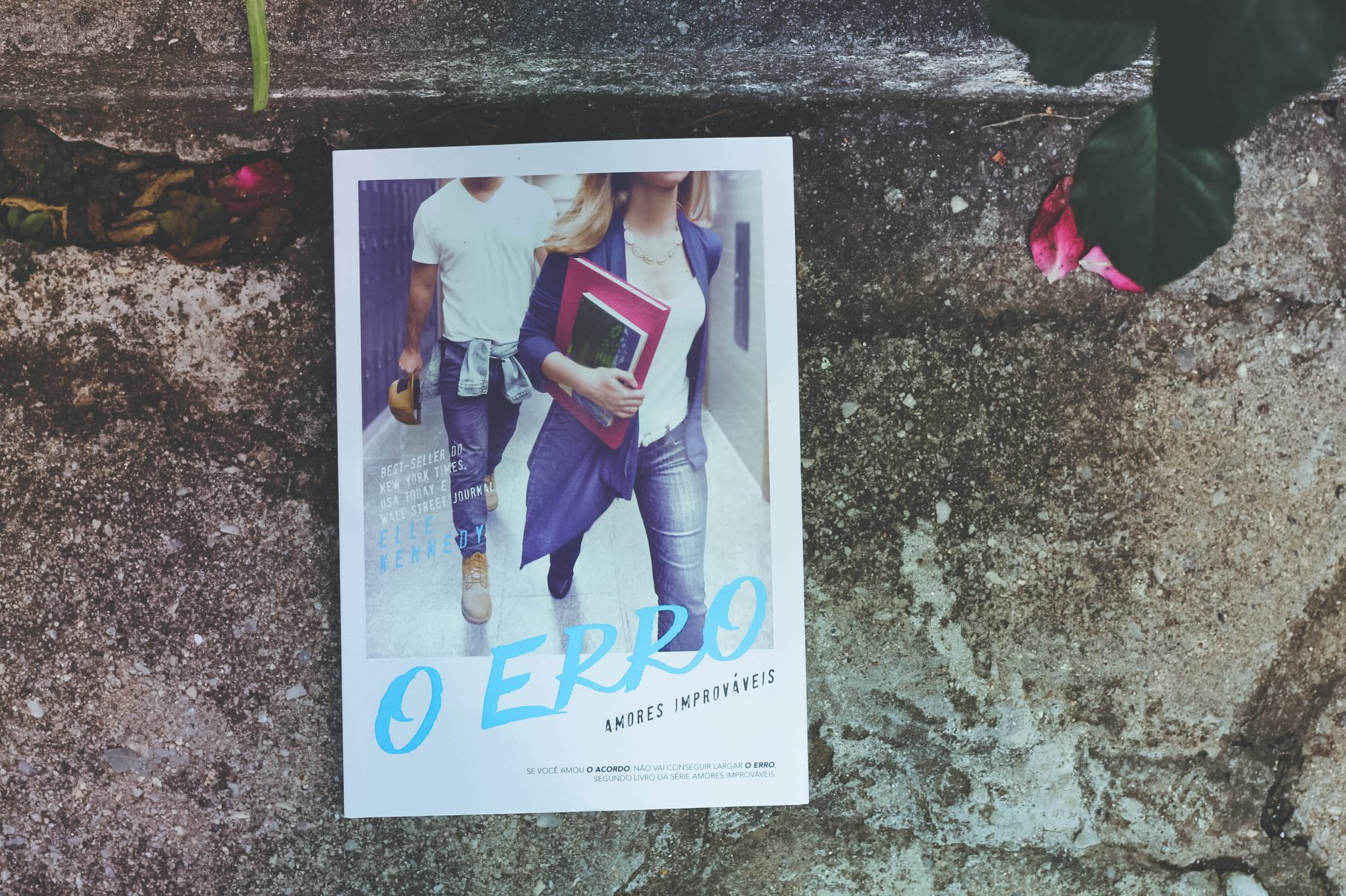 "As escolhas da vida no new adult ""O Erro"", de Elle Kennedy"